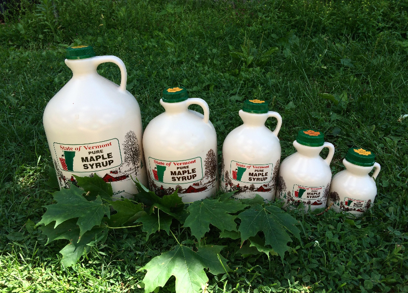Our Maple Syrup Jug Sizes