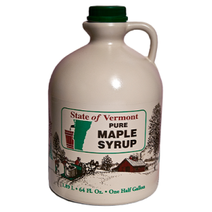 1/2 Gallon Pure Vermont Maple Syrup Collins Tree Farm and Sugarhouse