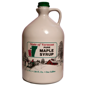 1 Gallon Pure Vermont Maple Syrup Collins Tree Farm and Sugarhouse