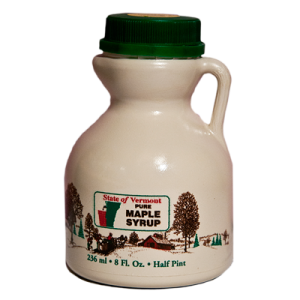 1/2 Pint Pure Vermont Maple Syrup Collins Tree Farm and Sugarhouse