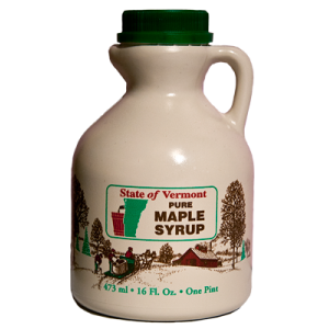1 Pint Pure Vermont Maple Syrup Collins Tree Farm and Sugarhouse