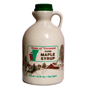 1 Quart Pure Vermont Maple Syrup Collins Tree Farm and Sugarhouse